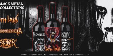 The Black Metal Wine Collections