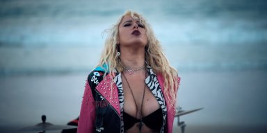Hit 'n' Mizz: Australian Female Fronted Hard Rockers Unleash New Single/Video Burn