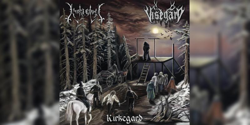 "New Promo - Kirkerbran / Visegard - Split - ""Kirkegard"" - Norwegian Black Metal"