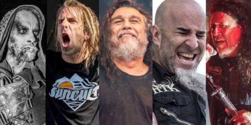 SLAYER, LAMB OF GOD, ANTHRAX, TESTAMENT And BEHEMOTH To Tour North America?