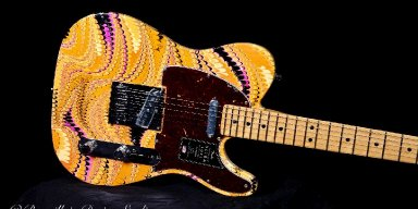 Custom Fender Telecaster from Bonvillain Design Studio to be Offered at this Year's Hearts & Horses Therapeutic Riding Center's Silent Auction