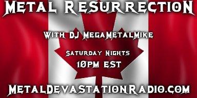 Metal Resurrection Radio Show - Live Phone Interview with Aggravator