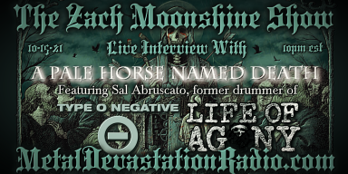 A Pale Horse Named Death - Featured Interview - The Zach Moonshine Show