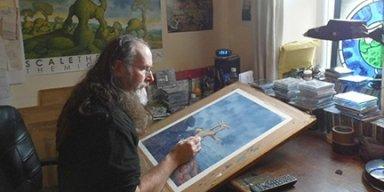 """Legendary Artist Duncan Storr Illuminates GATEKEEPER's """"East Of Sun"""" Album Cover"""