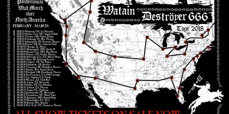 Social Hall Cancelled Watain / D666 Without Notice To Avoid Backlash?