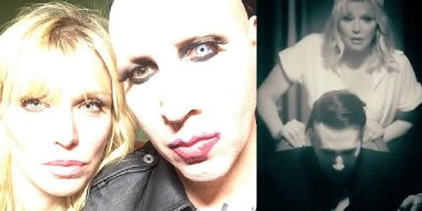Marilyn Manson Drops New Video Tattooed In Reverse featuring Courtney Love