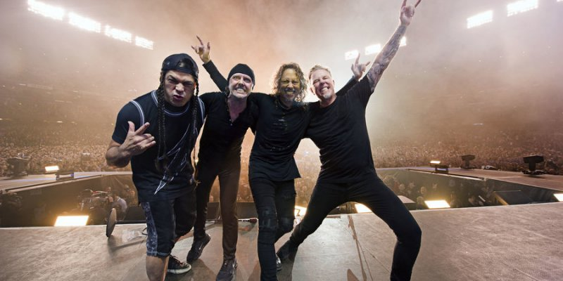 METALLICA's 'Hardwired… To Self-Destruct' Returns To No. 2 Thanks To Concert Ticket/Album Bundle
