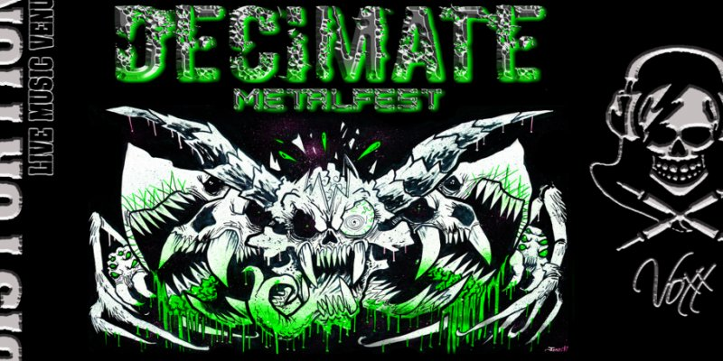 Calgary's DECIMATE MetalFest Announces 2018 Line-Up