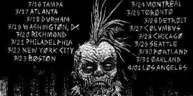 GATECREEPER Kicks Off North American Tour Supporting Nails And Toxic Holocaust