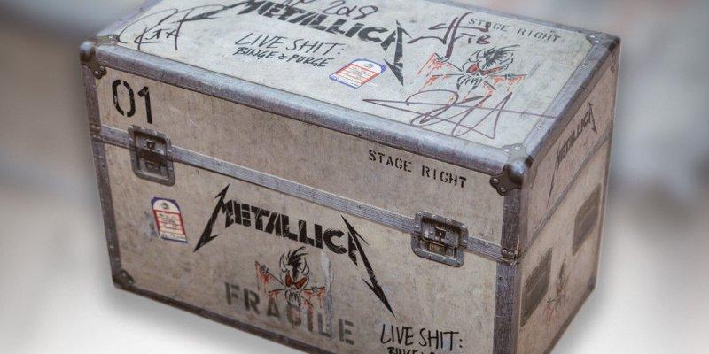 "Want A Autographed Metallica Funko Set & ""Binge & Purge"" Box Set?"