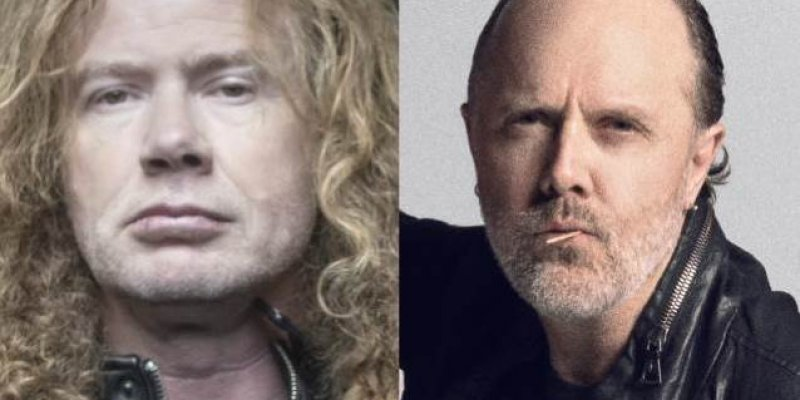 DAVE MUSTAINE: 'I Think LARS ULRICH Is Just Afraid To Play With MEGADETH'