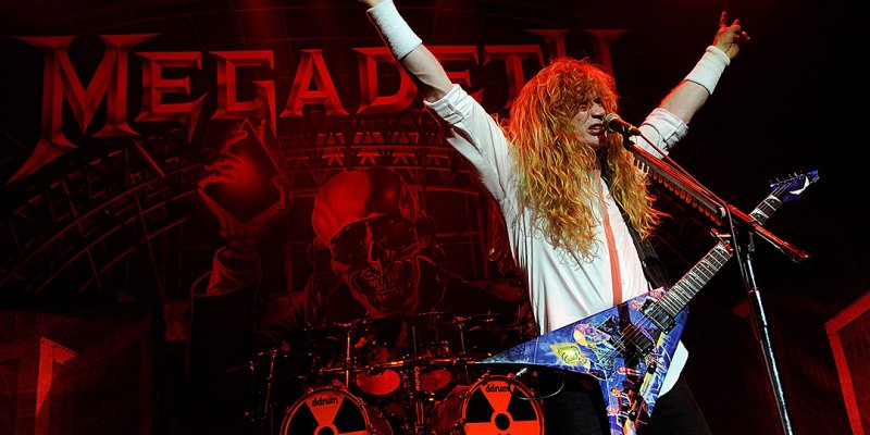 """New Megadeth Album Will be """"Fast"""" and """"Aggressive"""" and Has Blast Beats; Megadeth Festival in the Works for 2019"""