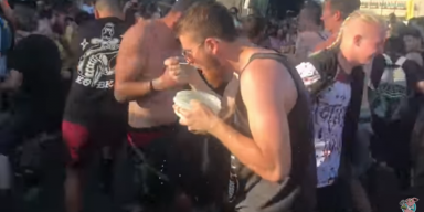 Who The Fuck Eats Cereal In A Moshpit? Watch This lmao!