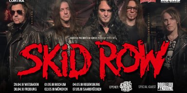Skid Row Thinks 'The Online Trolls Found Less Reasons To Hate Us' As A Result Of New Singer?