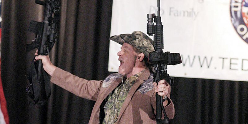 Ted Nugent Denies Banning Fans From Carrying Guns Into Roanoke Concert?