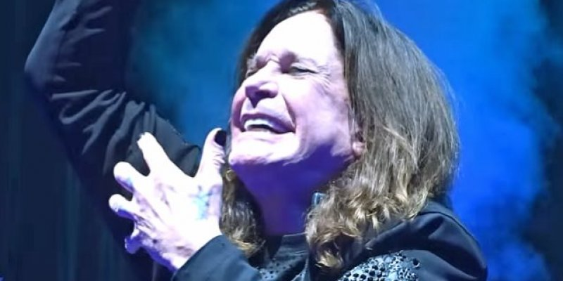 OZZY OSBOURNE Purchases Truck Full Of Ice To Keep Cool During Heatwave