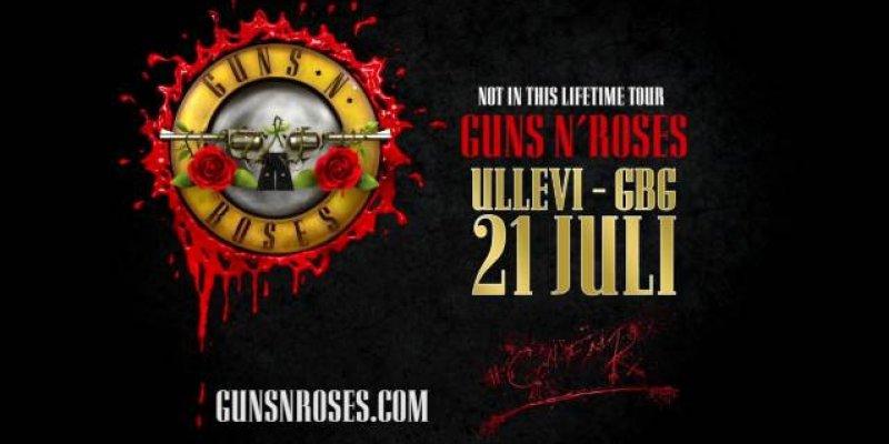 GUNS N' ROSES Breaks METALLICA's Attendance Record In Gothenburg, Sweden
