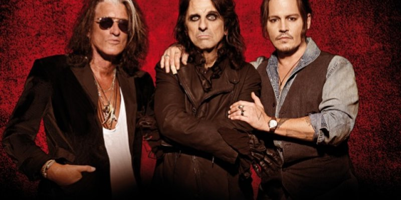 HOLLYWOOD VAMPIRES: Behind-The-Scenes Footage From 2018 Tour