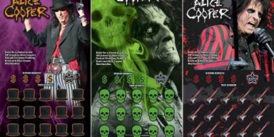 ALICE COOPER To Be Featured On New Arizona Lottery Ticket