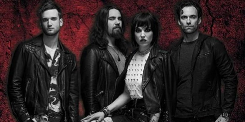 HALESTORM Didn't Realize How 'Heavy' New Album 'Vicious' Was Until Band Started Playing Songs Live