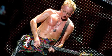 Guitar Hand Painted And Signed By Phill Collen From Def Leppard Ends Up On Pawn Stars!