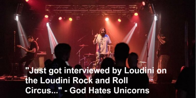 Ride the Bullsh*t Train with God Hates Unicorns