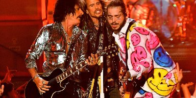 AEROSMITH And POST MALONE Team Up To Close Out 'MTV Video Music Awards'