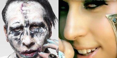 Are Marilyn Manson + Lady Gaga Collaborating?