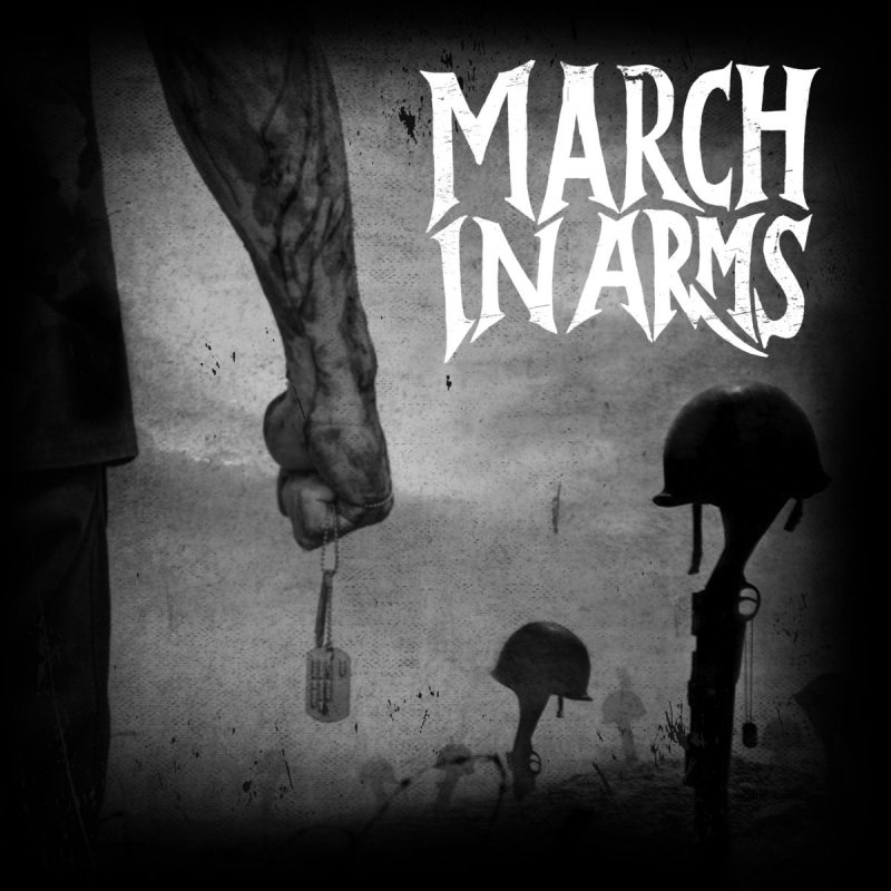 MARCH IN ARMS lists the likes of Metallica, Iron Maiden, Motorhead, Black Sabbath, Pantera, and Judas Priest as influences in creating first class modern American metal.