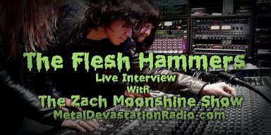 The Flesh Hammers Join The Zach Moonshine Show For A Few Drinks And An Interview And It Went Like This!