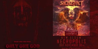 SACROSANCT Feat. Ex PESTILENCE Gitarrist Randy Meinhard Release 'Only One God' Lyric Video