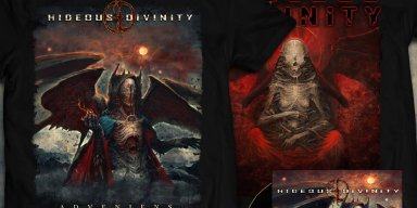 "HIDEOUS DIVINITY: Italian Death Metal Act Unleashes ""Angel Of Revolution"" From Forthcoming Adveniens Full-Length"