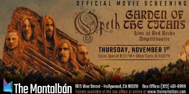 "OPETH announce ""Garden of the Titans"" screening in Los Angeles"