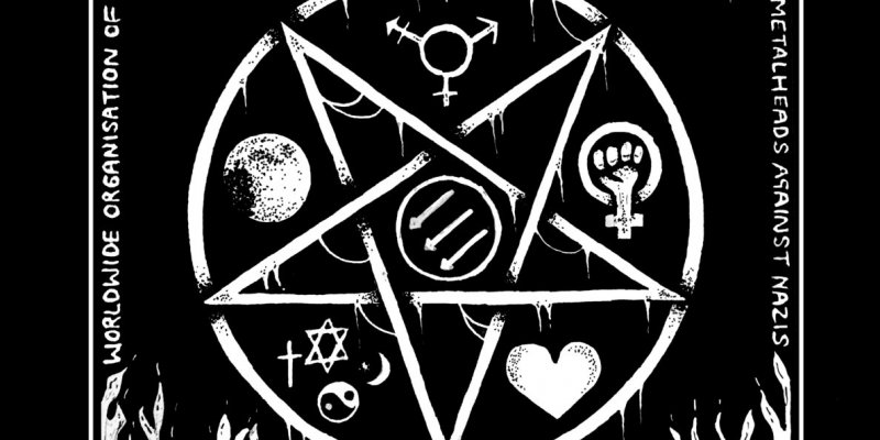 """The Worldwide Organization of Metalheads Against Nazis Sends A Big """"Fuck You"""" To Bigots Everywhere with New 44-Track Compilation"""