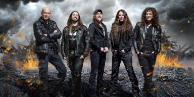 "ACCEPT Reveal Live Video For ""Symphony No. 40"""