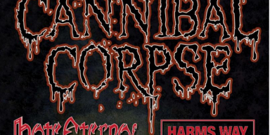 CANNIBAL CORPSE: American Death Metal Icons To Begin US Headlining Tour With Hate Eternal And Harm's Way Next Week
