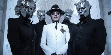 GHOST's TOBIAS FORGE Says Band's Satanic Image Felt 'Completely Natural' To Him