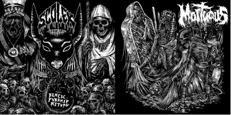 Carbonized Records: DEADPRESSURE Self-Titled Debut + SCOLEX / MORTUOUS Split Out NOW And Streaming