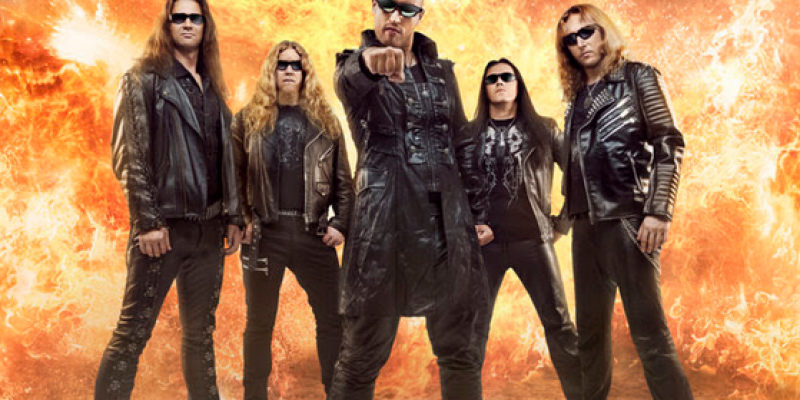 """BEAST IN BLACK - unveil """"From Hell With Love"""" cover artwork + announce more 2019 tour dates"""