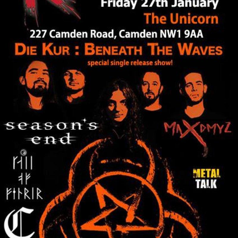 Retribution Alive at the Unicorn Camden 27/1/17