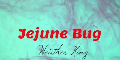"Alternative Rock Band Weather King Releases Single ""Jejune Bug"" November 9, 2018"