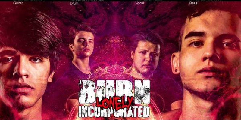 """Burn Inc.: Young Brazilian Metal revelation releases lyric video for the track """"Lonely"""", check it out"""