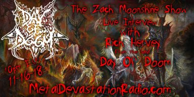 Day Of The Death Rock Podcast Of Doom Featuring An Interview With Day Of Doom!