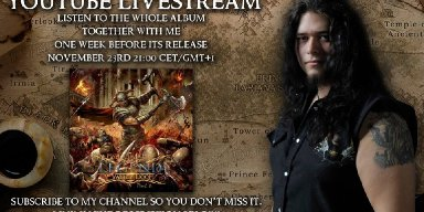 MARIUS DANIELSEN Announces 'Legend of Valley Doom: Part 2' Album Listening Party November 23