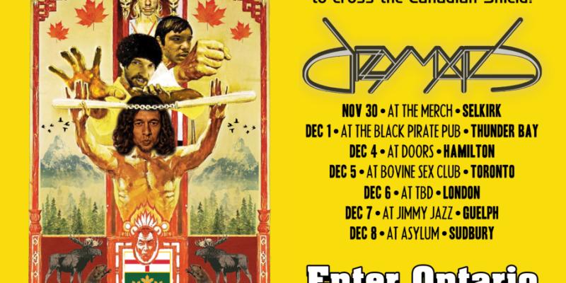 Winnipeg Proggers DIZZY MYSTICS Announce Ontario Tour Dates