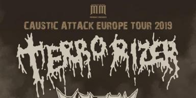 TERRORIZER: American Grindcore Icons Announce Caustic Attack European Headlining Tour 2019