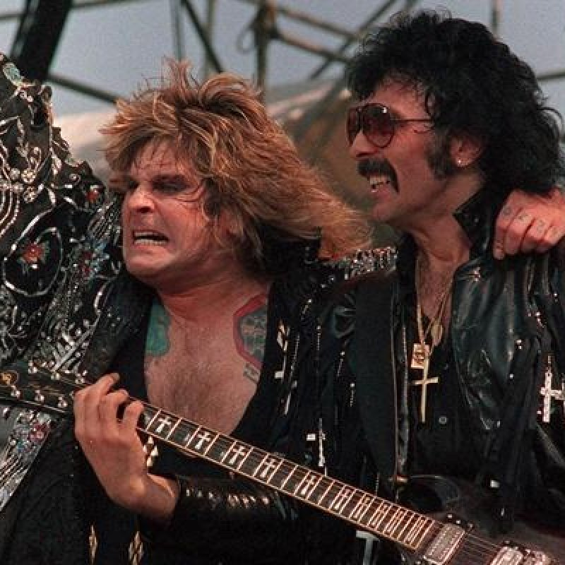 OZZY DOESN'T REALLY LIKE WORKING WITH TONY