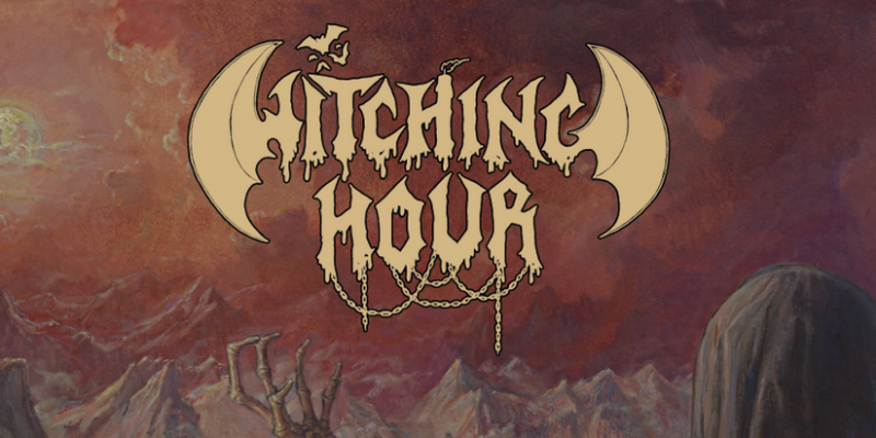 HELLS HEADBANGERS is proud to present WITCHING HOUR's highly anticipated third album, ...And Silent Grief Shadows the Passing Moon!