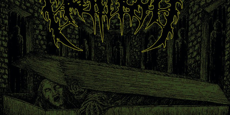 Meathook return with the brutal assault of Crypts, Coffins, Corpses on Unmatched Brutality Records