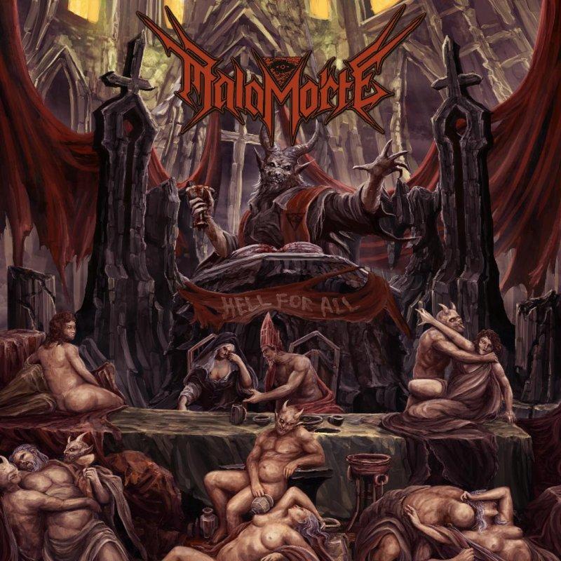 "Italy's Evil Thrashers MALAMORTE Resurrect The ""Antichrist"" With New Lyric Video"